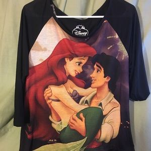 Disney The Little Mermaid women's long sleeved top